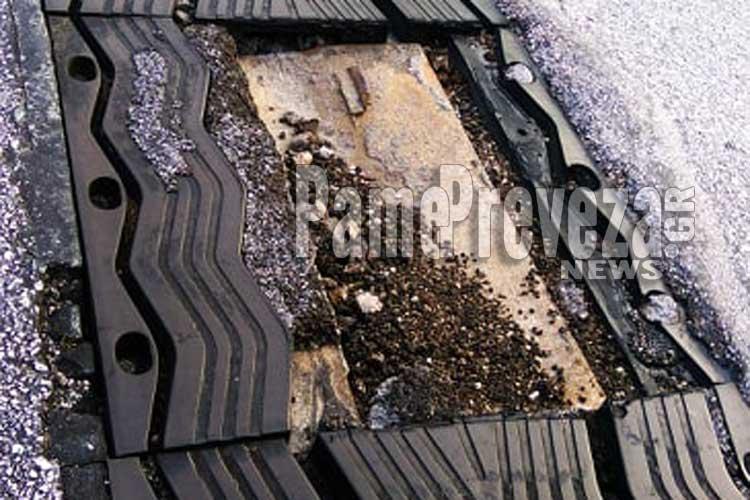 Ε.Ο. Πρέβεζας Ηγουμενίτσας: Επικίνδυνο σημείο για τους οδηγούς στην γέφυρα στην Λούτσα – Υλικές ζημιές σε οχήματα_5e067ecae5545.jpeg