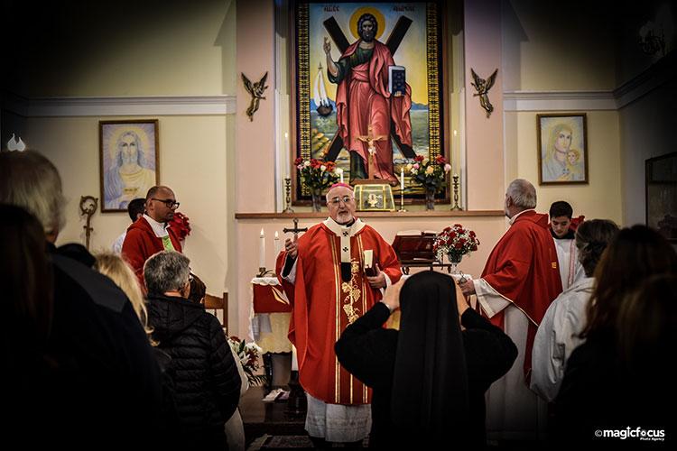 Η Καθολική Αρχιεπισκοπή τίμησε τη μνήμη του Αποστόλου Ανδρέα και Πολιούχου της Πρέβεζας_5e04e5d40f3c1.jpeg