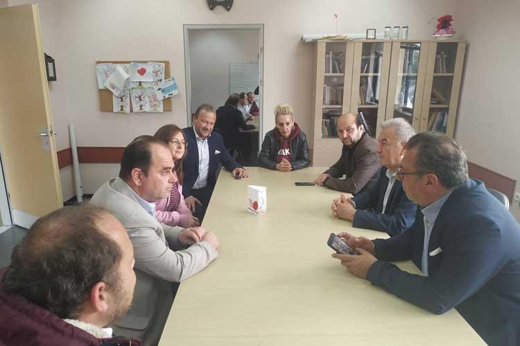 Το Κέντρο Ψυχικής Υγείας Πρέβεζας, επισκέφθηκε ο υποψήφιος Δήμαρχος Βαγγέλης Ροπόκης_5e067a52a6e2b.jpeg