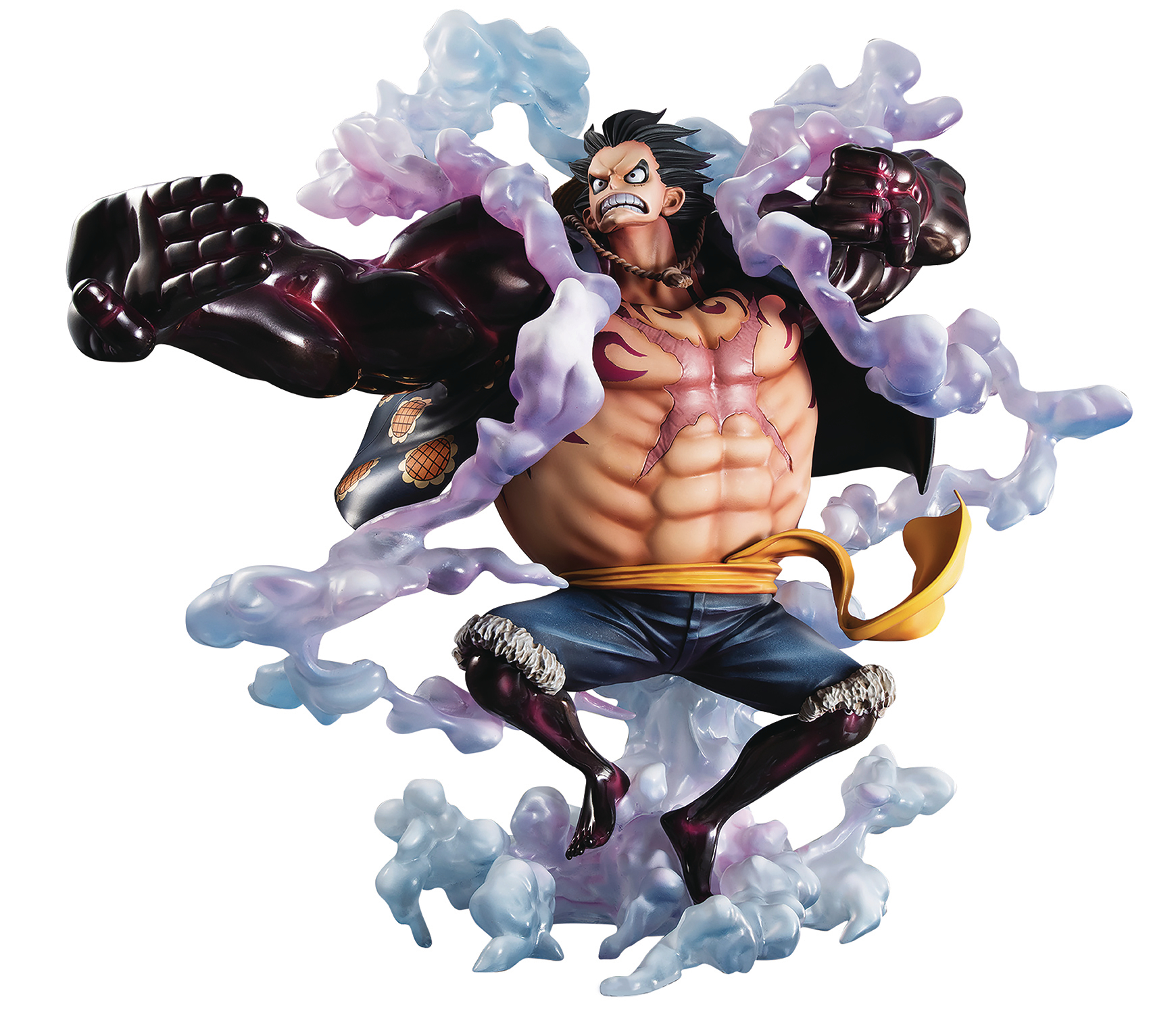It was there they drew up what the next gear fourth form. Luffy Gear 4 Forms