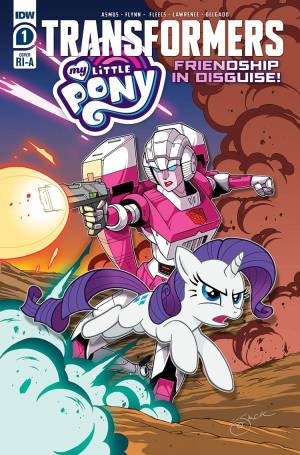 MY LITTLE PONY TRANSFORMERS #1 (OF 4) VARIANT 1:10 COVER