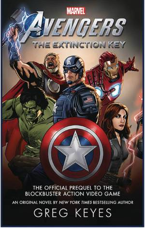 MARVEL AVENGERS EXTINCTION KEY (Greg KEYES) NOVEL