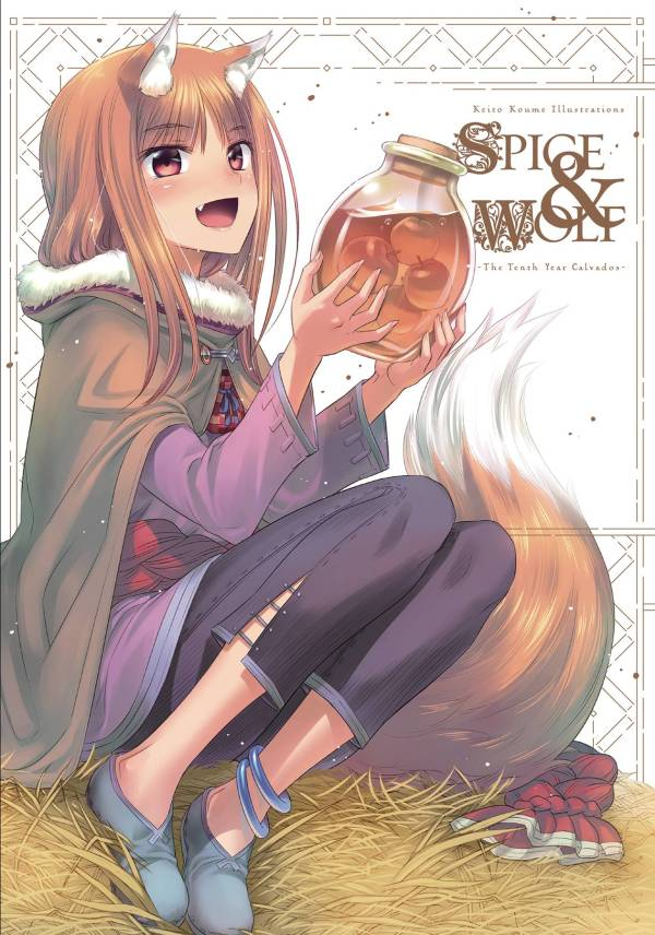 KEITO KOUME ILLUS SPICE & WOLF TENTH YEAR CALVADOS ART SC