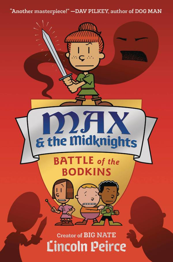 MAX AND THE MIDKNIGHTS BOOK 02 SC BATTLE OF THE BODKINS