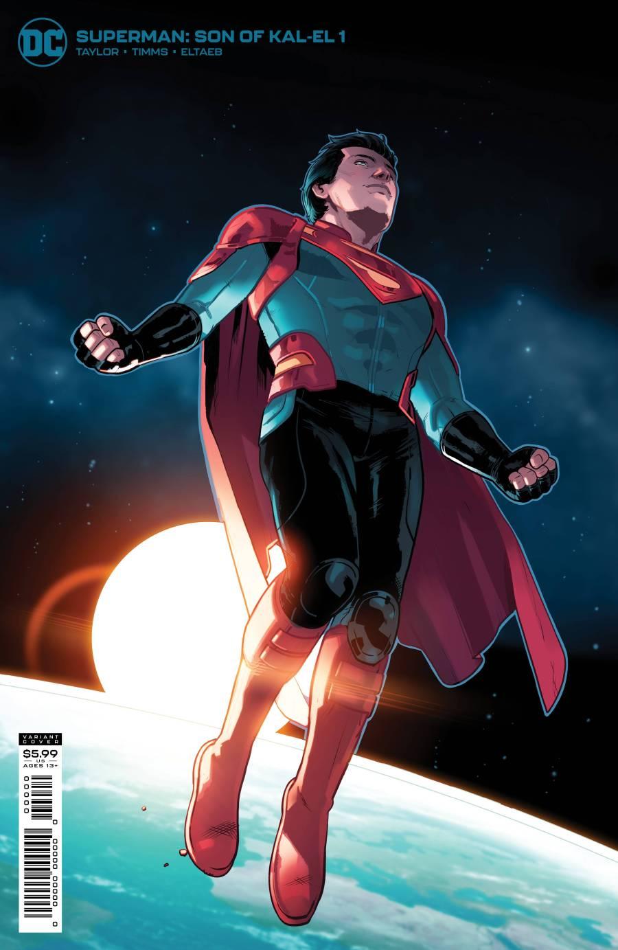 MAY217002 - SUPERMAN SON OF KAL EL #1 CVR C CARDSTOCK BYRNE VAR - Previews  World