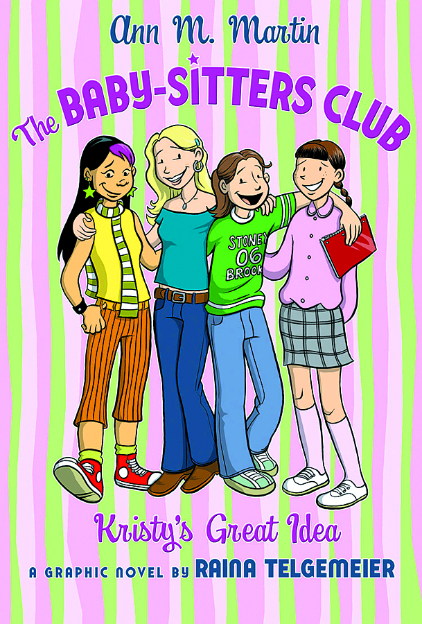The Baby-Sitters Club graphic novel: Kristy's Great Idea