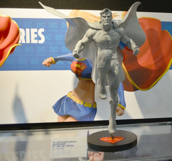 DC Designer Series Jim Lee Superman Resin New York Toy Fair
