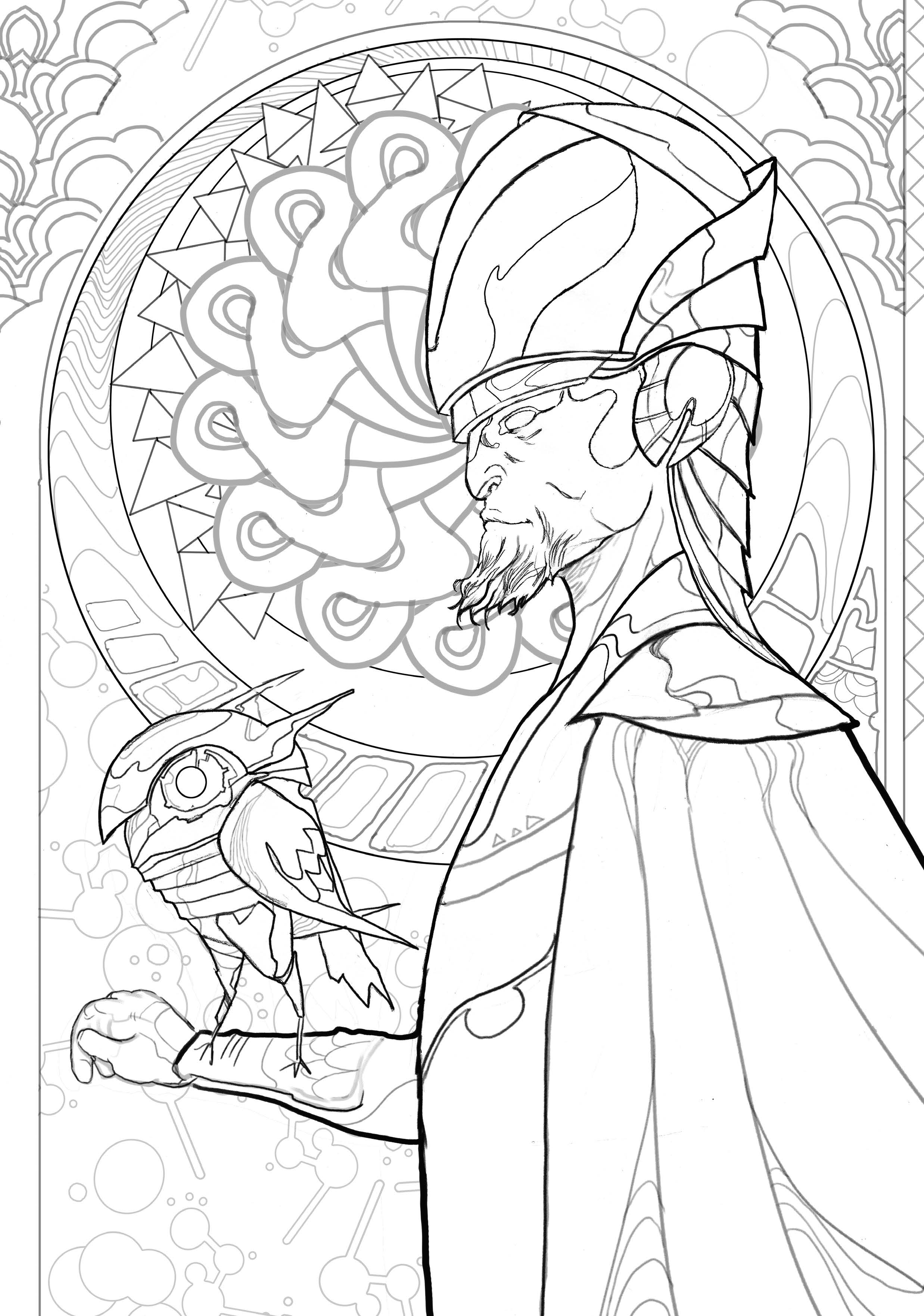 Image Releases Coloring Book Pages From ODY-C