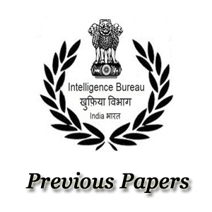 IB Jr Intelligence Officer Previous Papers Free PDF