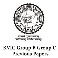 KVIC Group B Group C Previous Papers & Answer Key