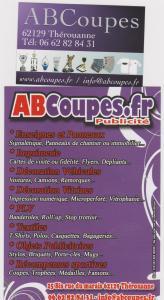 ABCoupes Publicité