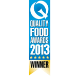 Prewetts Q Quality Food Awards Winner 2013