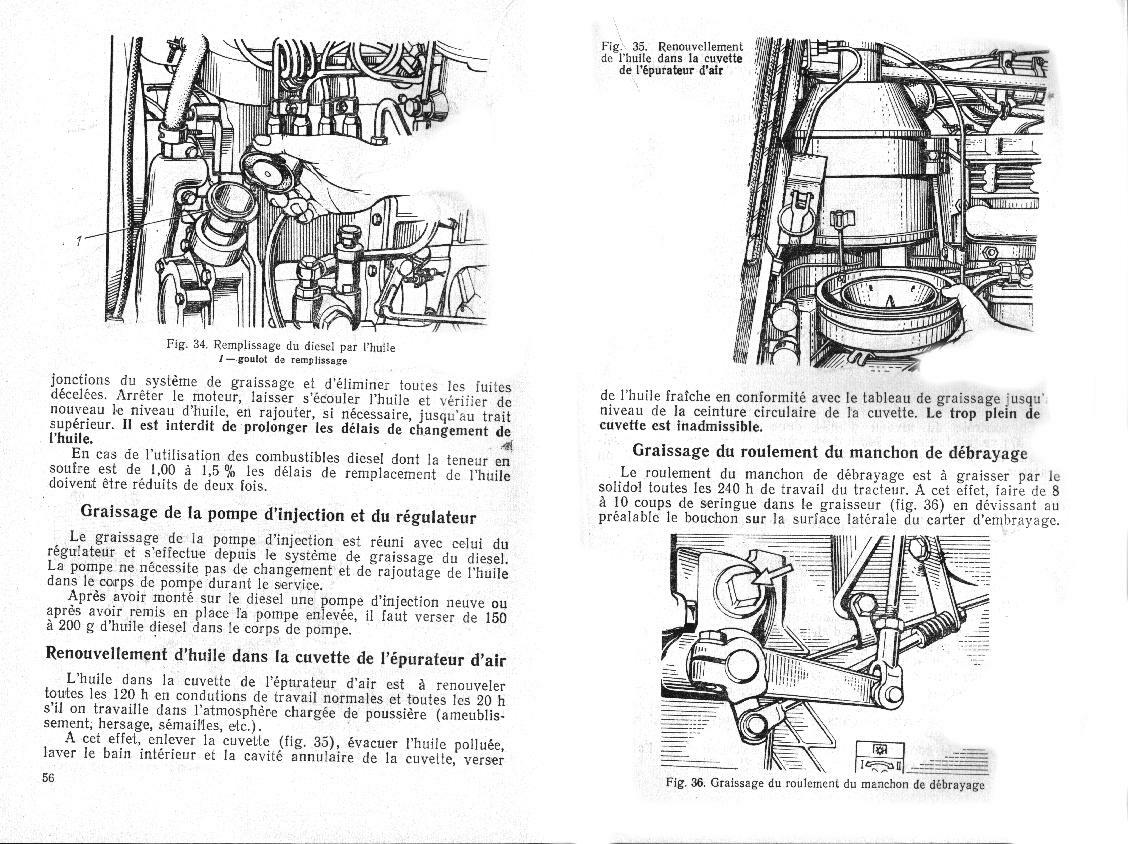 GUIDE DE SERVICE MTZ-50/52