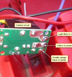 solved kid trax cooper s 12v now blows fuses modifiedpowerwheels com kid trax mini cooper wiring diagram [ 1100 x 733 Pixel ]