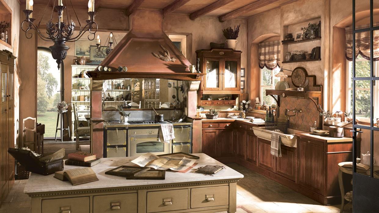 Idee Arredamento Cucina Rustica