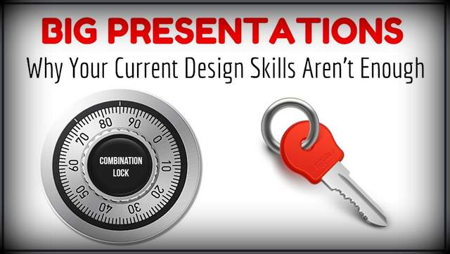Right Approach to BIG Presentations