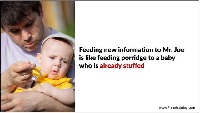 Feeding Information to audience
