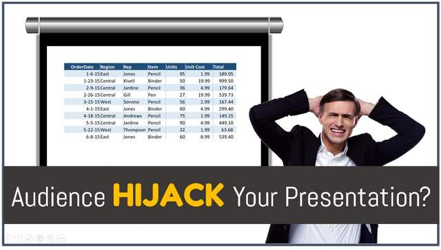 Did your audience hijack your business presentation?