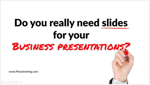 Why Slides In Business Presentations