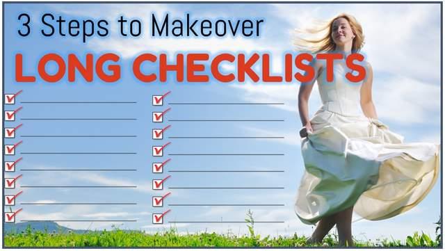 Makeover Long Checklist Slides