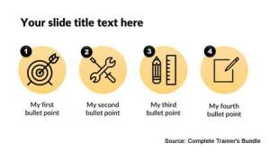 PowerPoint Icons Layout