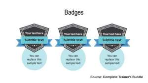 PowerPoint Assets Badges