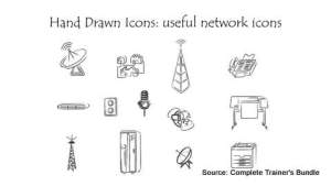 PowerPoint Assets Network Icons