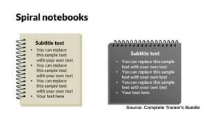 PowerPoint Assets Notepads