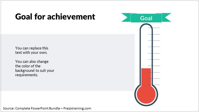 powerpoint-charts-training-thermometer-infographic