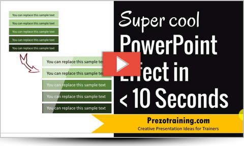 Sheen Effect Tutorial in PowerPoint