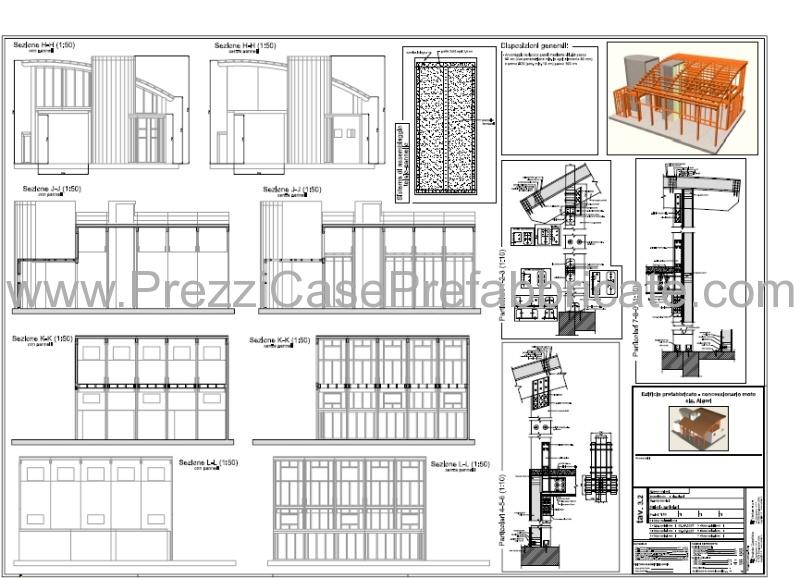 case prefabbricate in legno bioedilizia a risparmio energetico