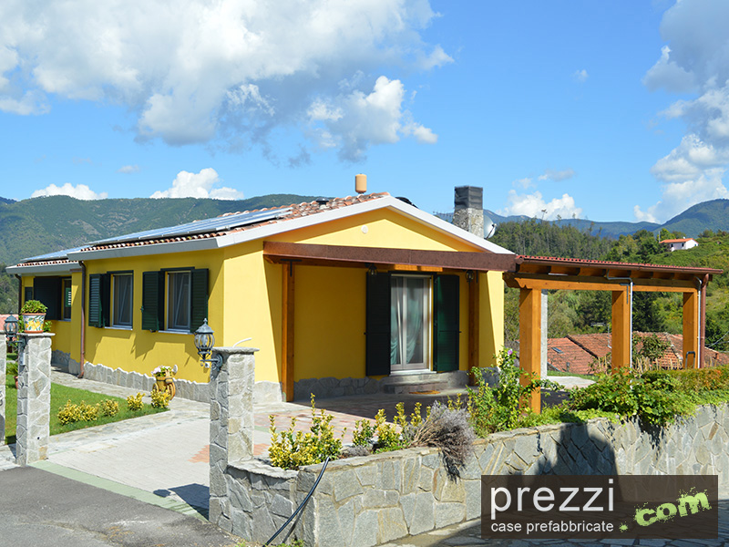 Casa prefabbricata cemento in classe A antitismica Aprilia Latina