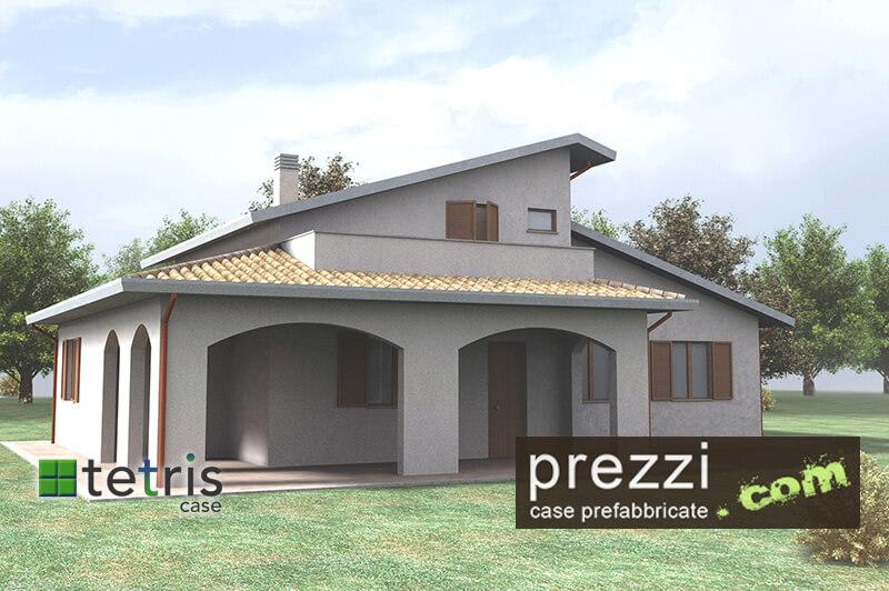 casa prefabbricata M17 case prefabbricate antisismiche