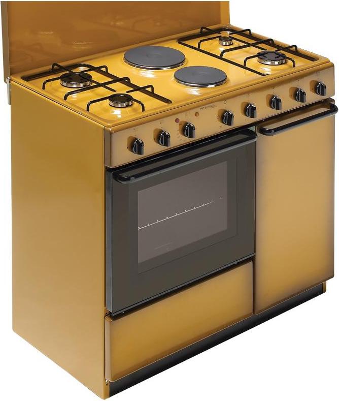Cucina A Gas Bompani Bi941EbL Forno Elettrico 90X60