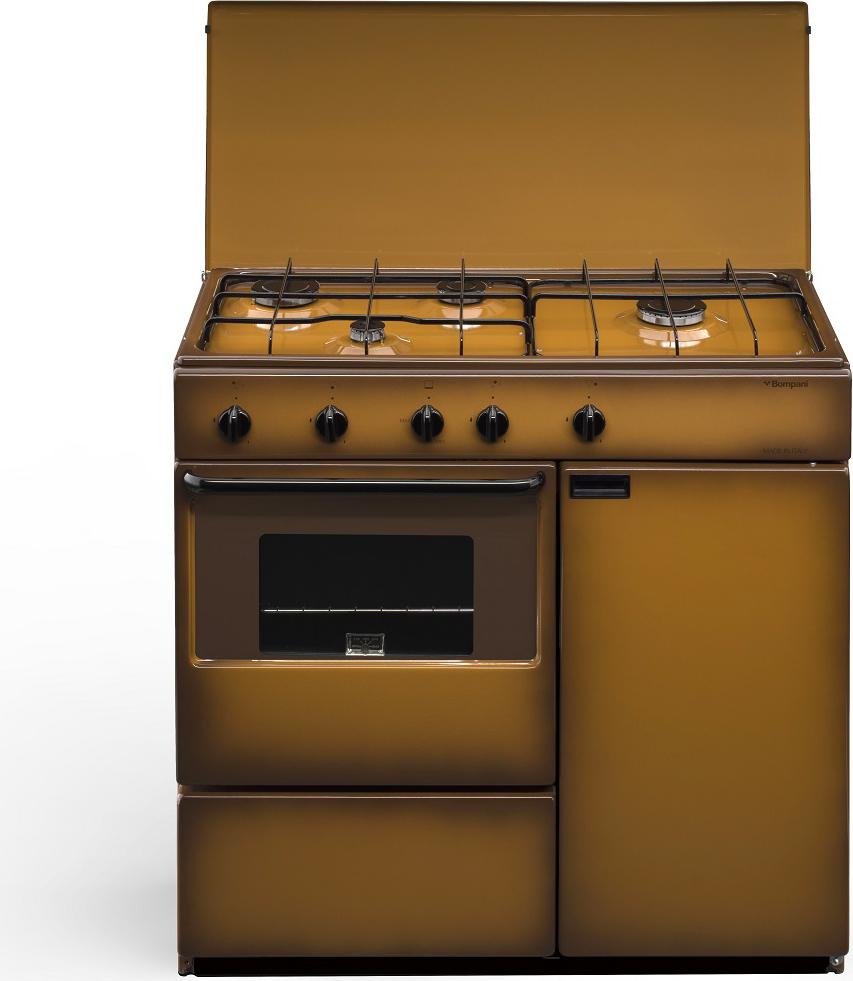Cucina A Gas Bompani Bi961YaL Forno A Gas 85X45  Prezzoforte
