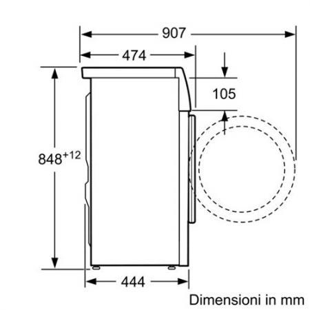 Lavatrice Bosch 6 Kg slim WLO20220IT in Offerta su Prezzoforte  34809