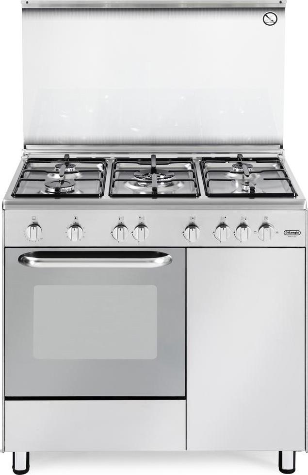 Cucina A Gas De Longhi Dgx 965 B Forno A Gas 90X60
