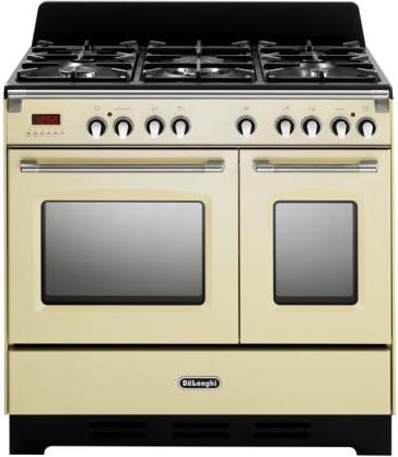 Cucina A Gas De Longhi Mem 965T Ba Forno Elettrico Ventilato 90X60  Prezzoforte
