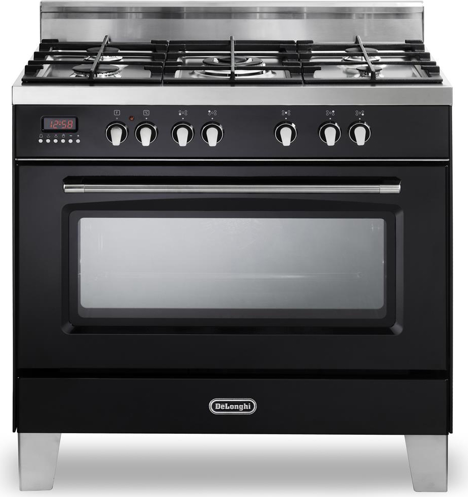 Cucina A Gas De Longhi Mem 965 Nbx Forno Elettrico Ventilato 90X60  Prezzoforte  74833