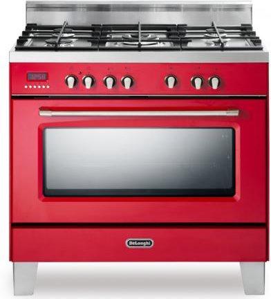 Cucina A Gas De Longhi Mem 965 Rcx Forno Elettrico Ventilato 90X60  Prezzoforte