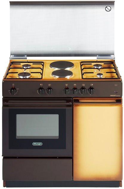 Cucina A Gas De Longhi Sek 8542 N Forno Elettrico 86X50  Prezzoforte