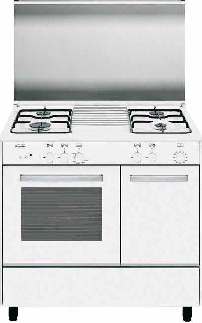 Cucina A Gas Glem Gas Ar96Ax Forno A Gas 90X60  Prezzoforte  46327