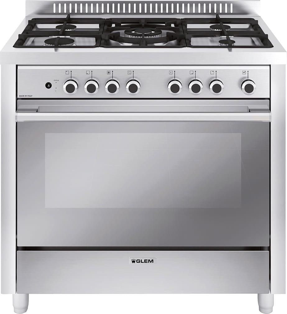 Cucina A Gas Glem Gas M965Mi Forno Elettrico Ventilato