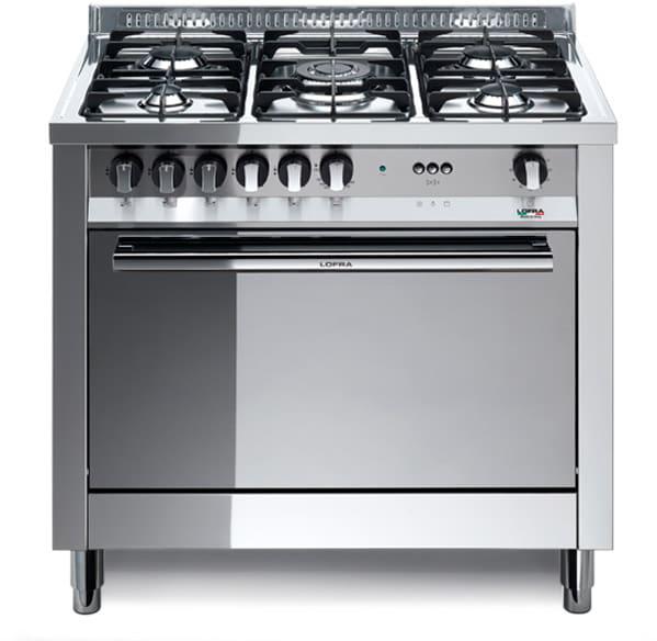 Cucina a Gas 5 Fuochi Lofra con Forno a Gas Ventilato