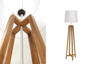Cross Floor Lamp - Natural | pr home