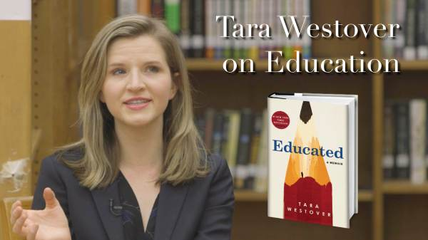 Tara Westover Education - Year of Clean Water