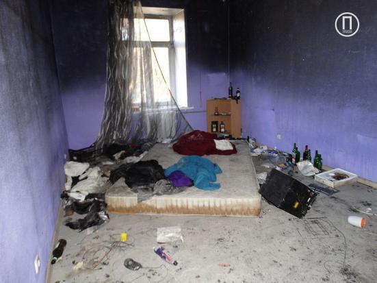 Квартира, в которой начался пожар