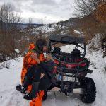 Višegrad: Čisteći sneg prema selu Žljeb, Vojkan Krstić slučajno spasio baku