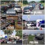 Protest zbog cene goriva: Vozači zaustavili automobile