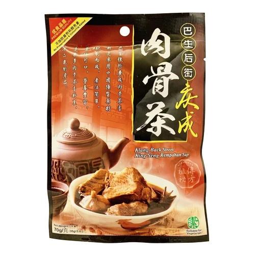 馬來西亞巴生后街慶成 肉骨茶湯料包 [70g] - 御殿堂有限公司